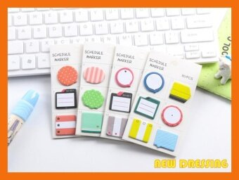 ZK305 - Schedule Marker (6 in 1) Sticky Notes (Type 4)