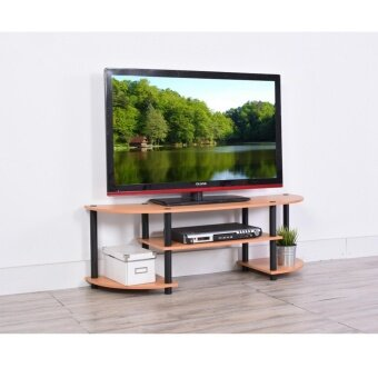 Zome C4805 4ft Flexipole TV Cabinet / TV Rack in Beach Finishing