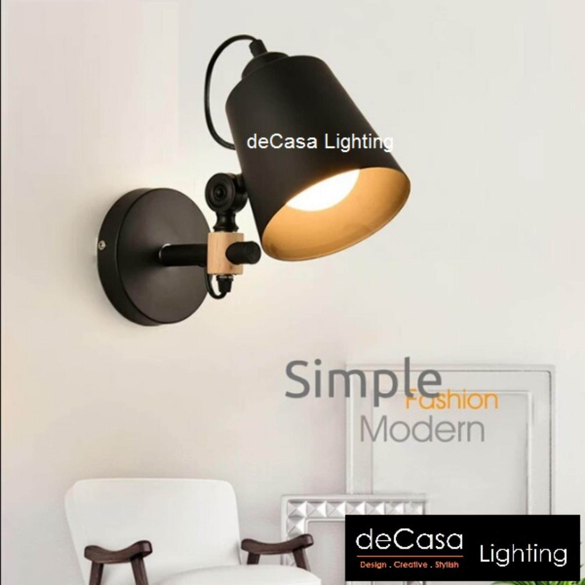 Best Seller Modern Wall Light Adjustable Swing Arm Wall Lights Decasa Lighting Wall Lamp (NSB-OS-2222-1W)