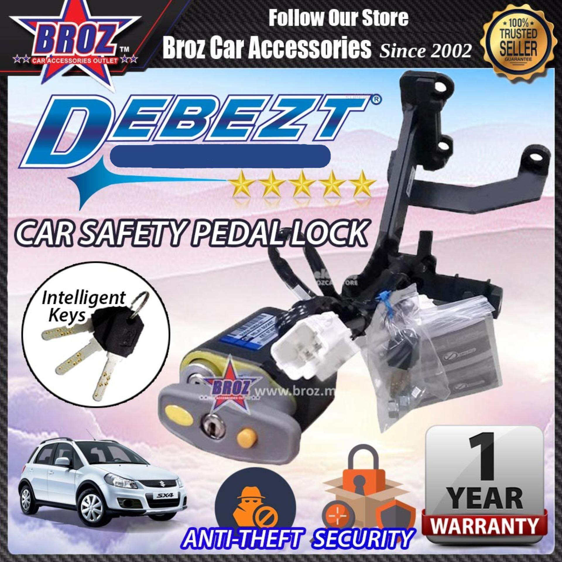 SX 4 2007-2015 Debezt Auto Key Start Anti Theft Double Pedal Lock