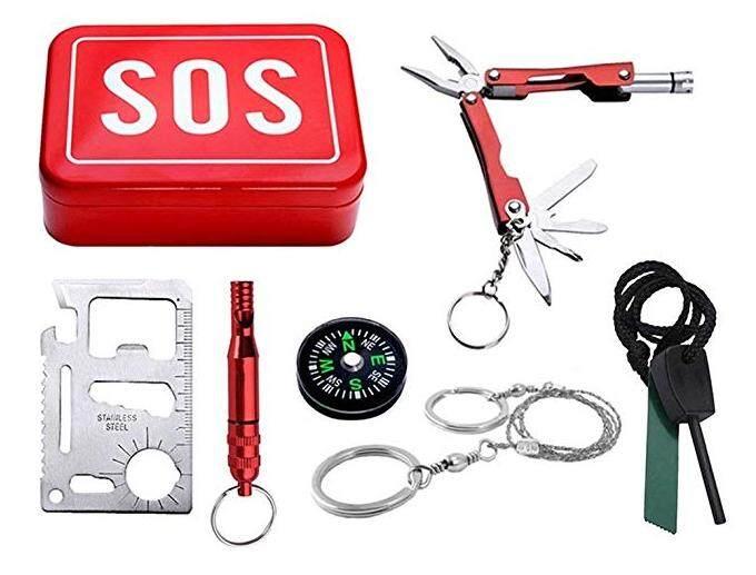 Emergency Survival SOS Tool Box Traveler Gift