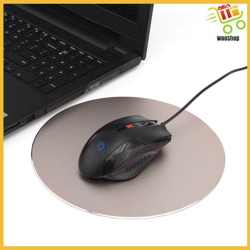 Keyboard Mat Anti Slip Rubber Bottom Gaming Mouse Pad Computer Table Mats - ROSE RED / SILVER GRAY / GOLD / BLACK