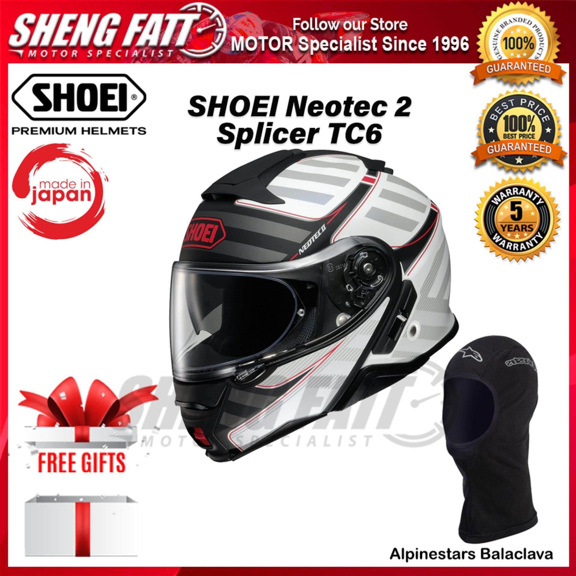 SHOEI Neotec 2 SPLICER TC6 FLIP FACE HELMET- [ORIGINAL]