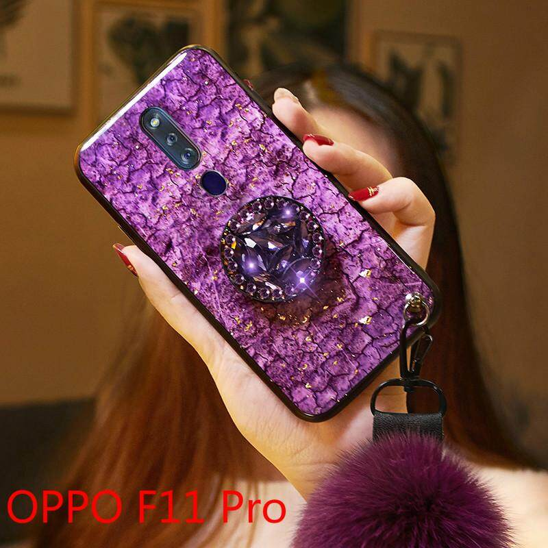 ขายดีมาก! Luxury ฟอยล์สีทอง Bling โทรศัพท์หินอ่อนสำหรับ OPPO F11 Pro กรณี Soft TPU สำหรับ OPPO F11 Pro Glitter Coque