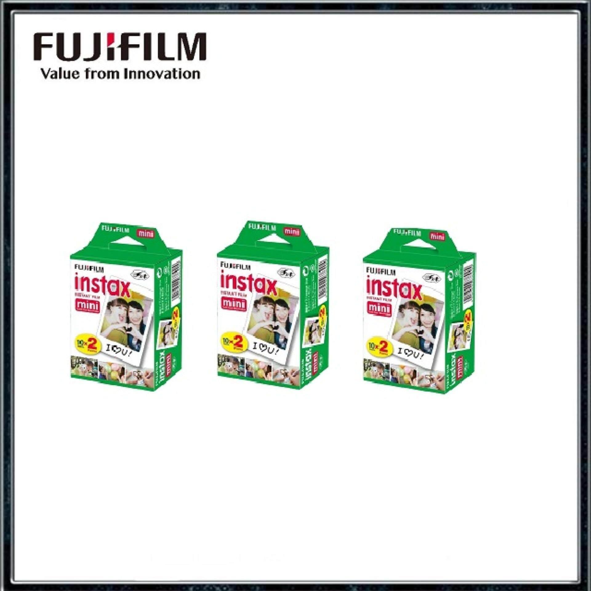 Fujifilm Instax Mini Instant Film Twin Pack (20sheets/ 40Sheets/ 60Sheets/ 80Sheets/ 100Sheets)