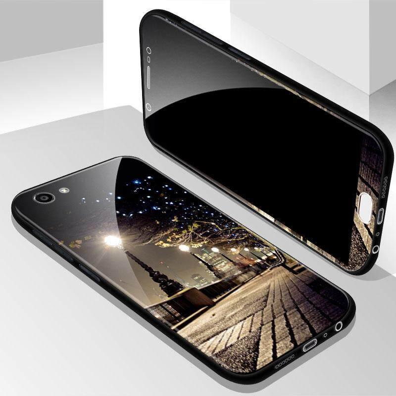 ... Pelindung untuk Vivo Y69 Pelindung Ponsel Sampul Pelindung Telepon Kaca Casing Ponsel untuk VIVO Y69 Depan dan Belakang Case Aksesori Ponsel Terbaru