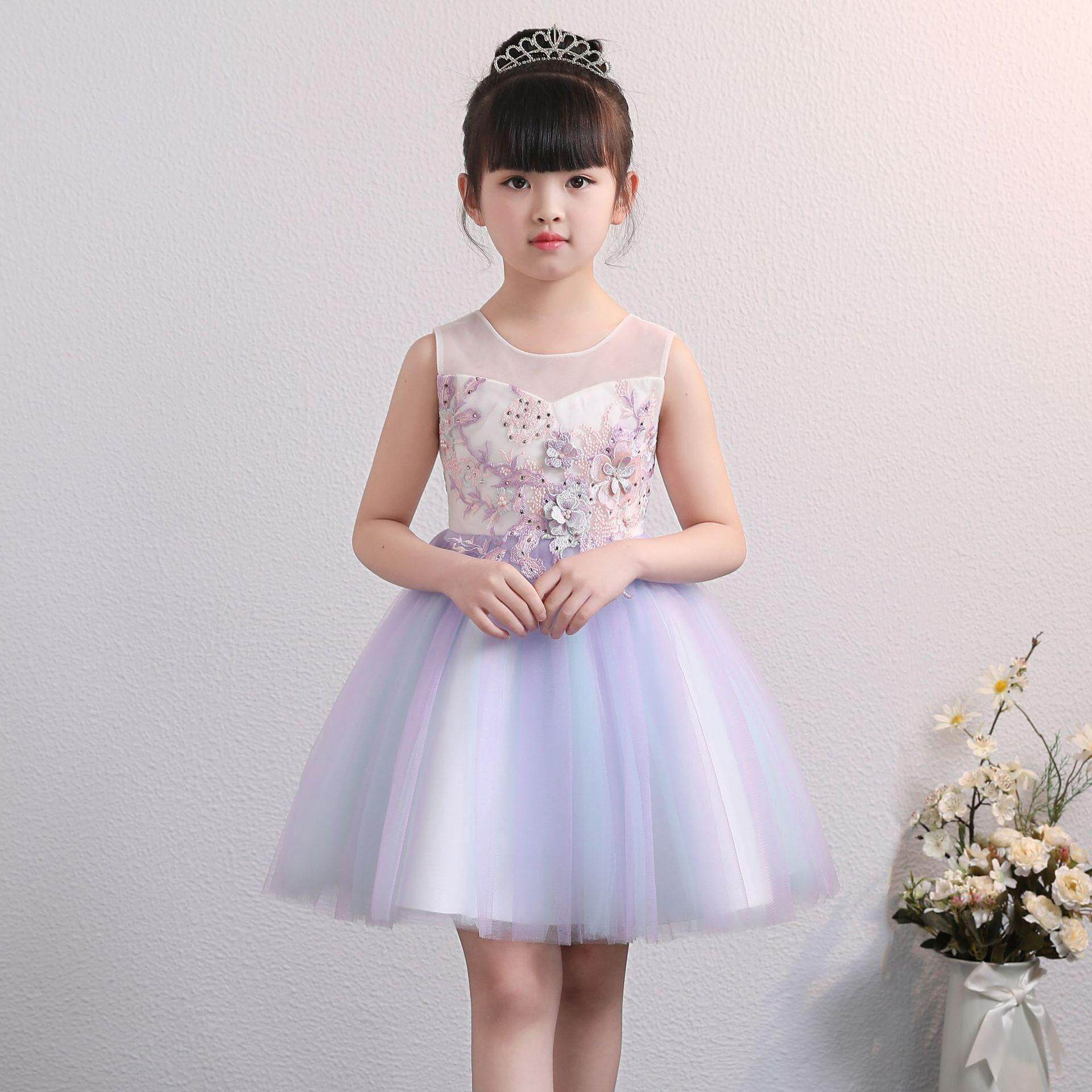 Aster Kids Girl Dress Princess Dress Party Dress Wedding Dress Birthday Dress