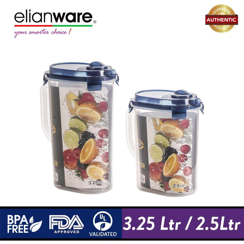 Elianware Ezy-Lock Water Jug [BPA Free] Cereal Rice Dispenser