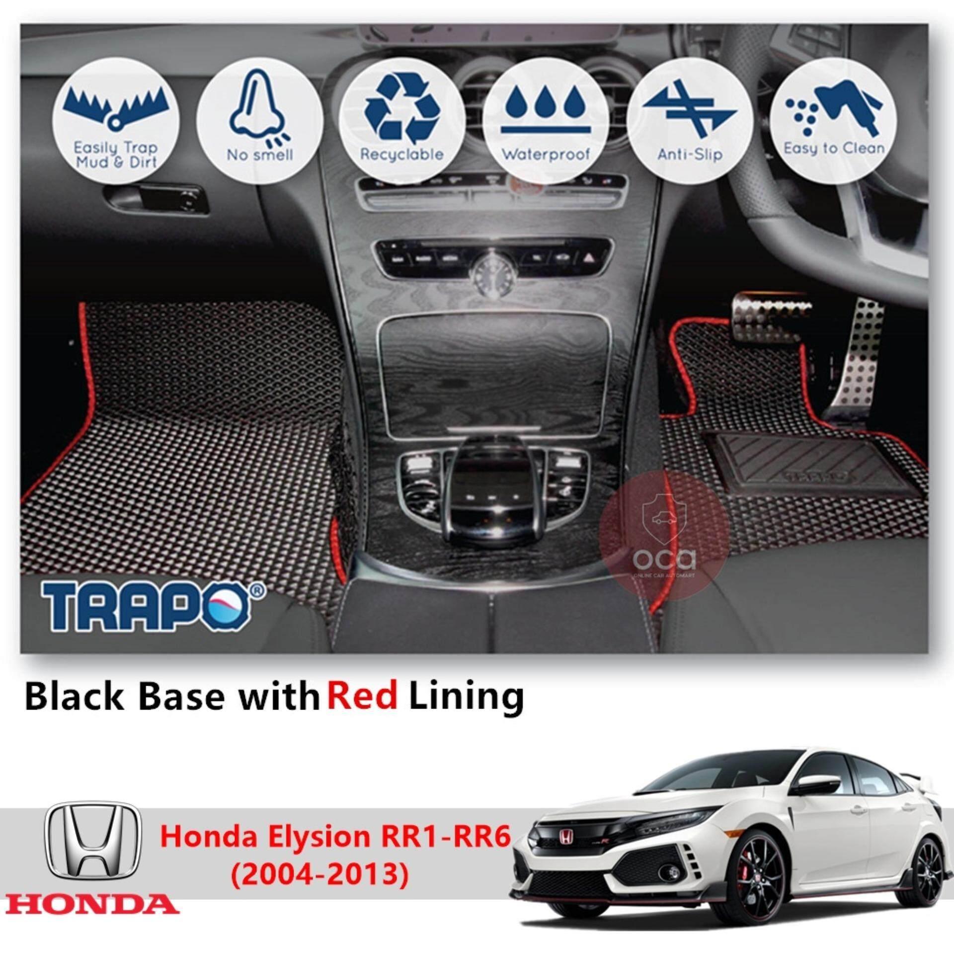 Trapo Customize Car Floor Mat For Honda Civic Type R 2017 Present