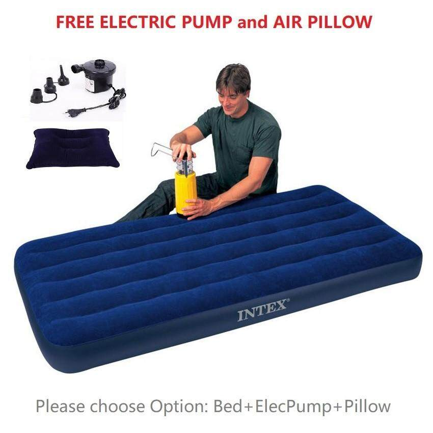 Twin Size Air Mattress With Pump Avalonit