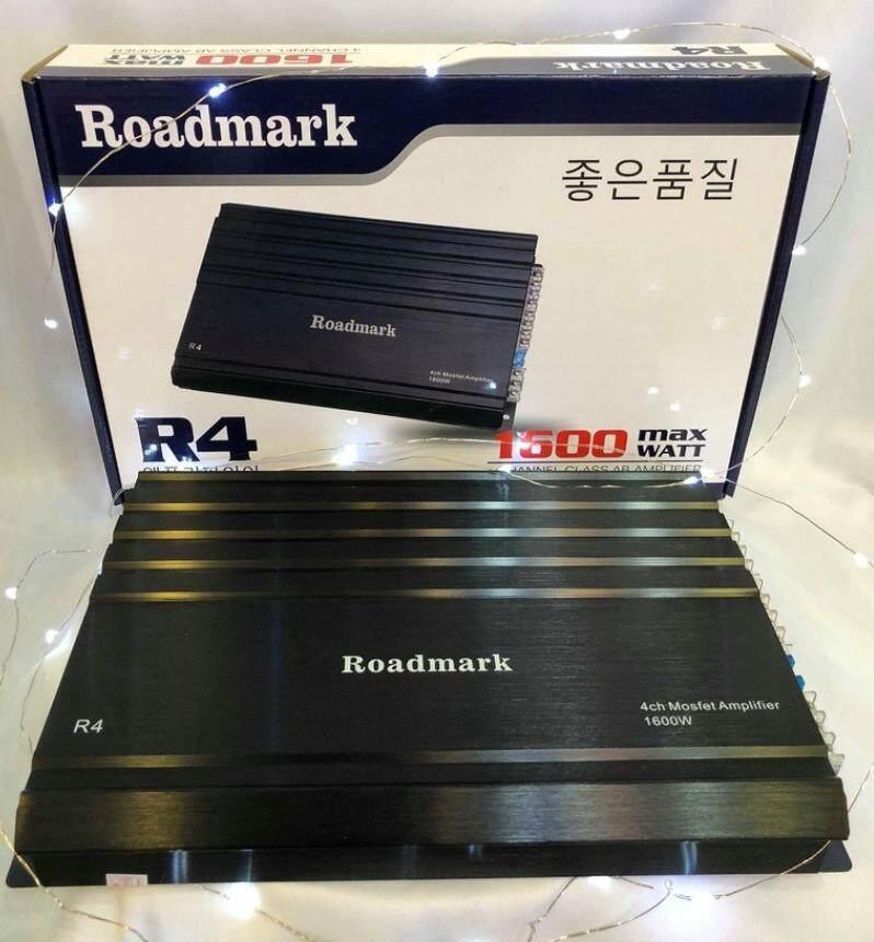 Roadmark R4 4 Channel Class AB Amplifier [1600 max Watt]