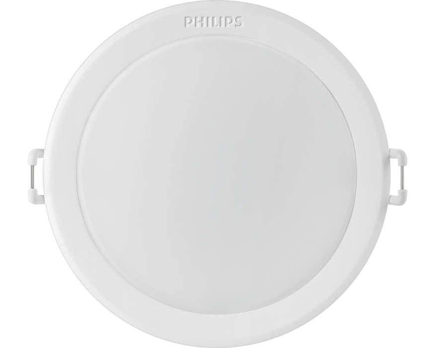 PHILIPS 59203 MESON 125 10.5W 30K WH recessed