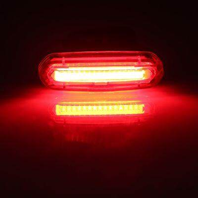 (FREE SHIPPING) Deemount Rechargeable Bicycle Taillight Rear Lamp (RED)