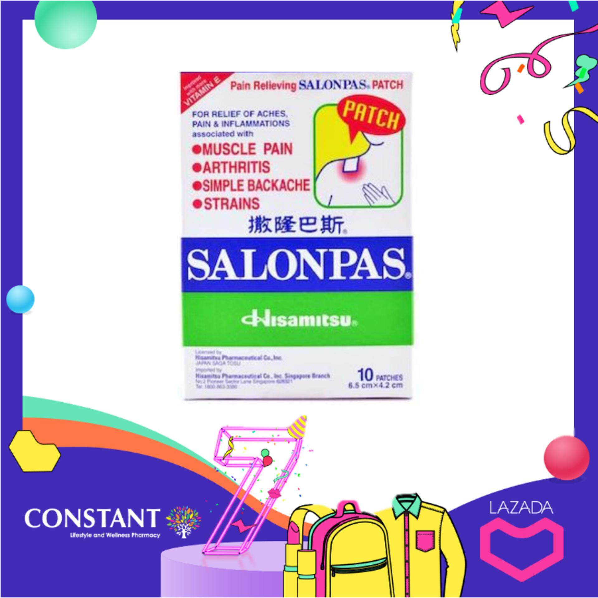 Salonpas Patch 10's