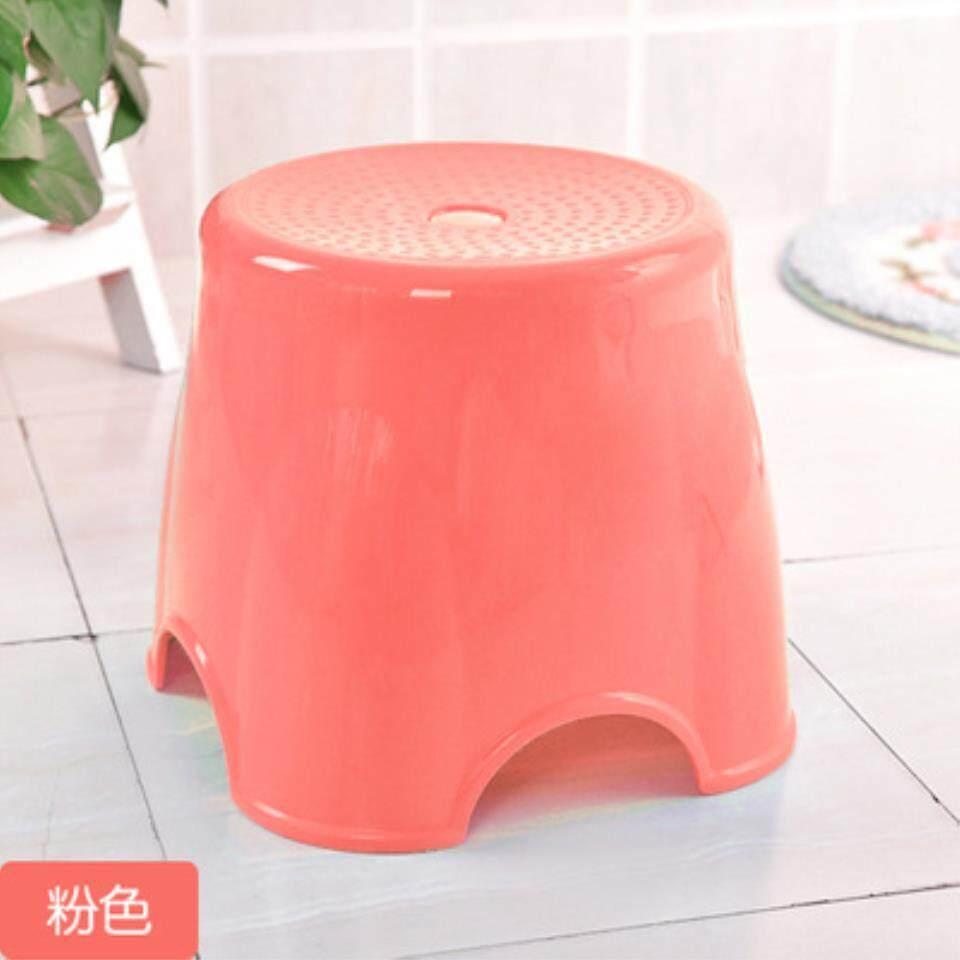 เช่าเก้าอี้ เชียงใหม่ เก้าอี้พลาสติกหนาแฟชั่นครัวเรือนผู้ใหญ่แท่นขนาดเล็กสามารถ Zhuo Deng สตูลเปลี่ยนรองเท้าของเขาเก้าอี้