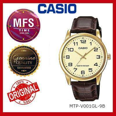 (2 YEARS WARRANTY) CASIO ORIGINAL MTP-V001GL SERIES ANALOG-MEN'S WATCH