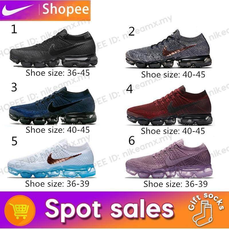 สอนใช้งาน  แม่ฮ่องสอน NIKE แท้ Air VaporMax Midnight Blue รองเท้าใส่พักผ่อน  849558-400