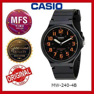 (2 YEARS WARRANTY) CASIO ORIGINAL MW-240 SERIES YOUTH ANALOG UNISEX WATCH