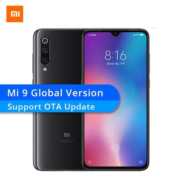 ลพบุรี Global Version Xiaomi Mi 9 6GB RAM MI9 สมาร์ทโฟน Snapdragon 855 OCTA Core 6.39  48MP Triple กล้อง NFC OTA Update