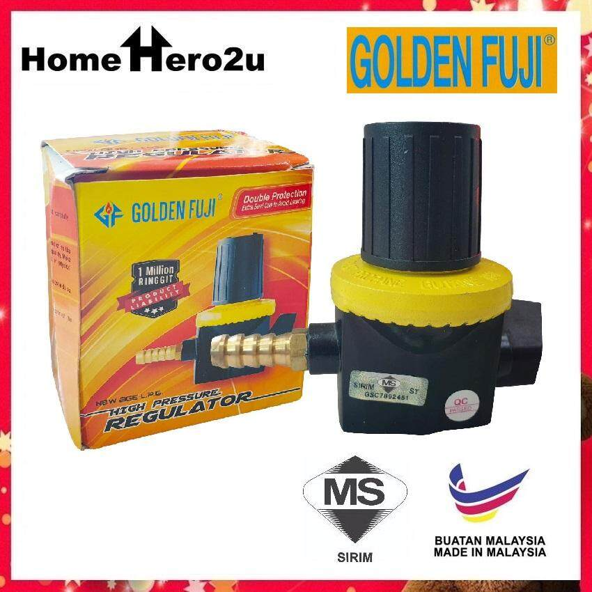 Golden Fuji GF-181 High Pressure Gas Regulator (Yellow) - Homehero2u