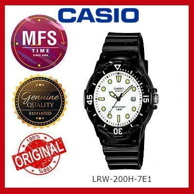 2 YEARS WARRANTY) CASIO ORIGINAL LRW-200H-7E1 SERIES STUDENT & KID'S WATCH
