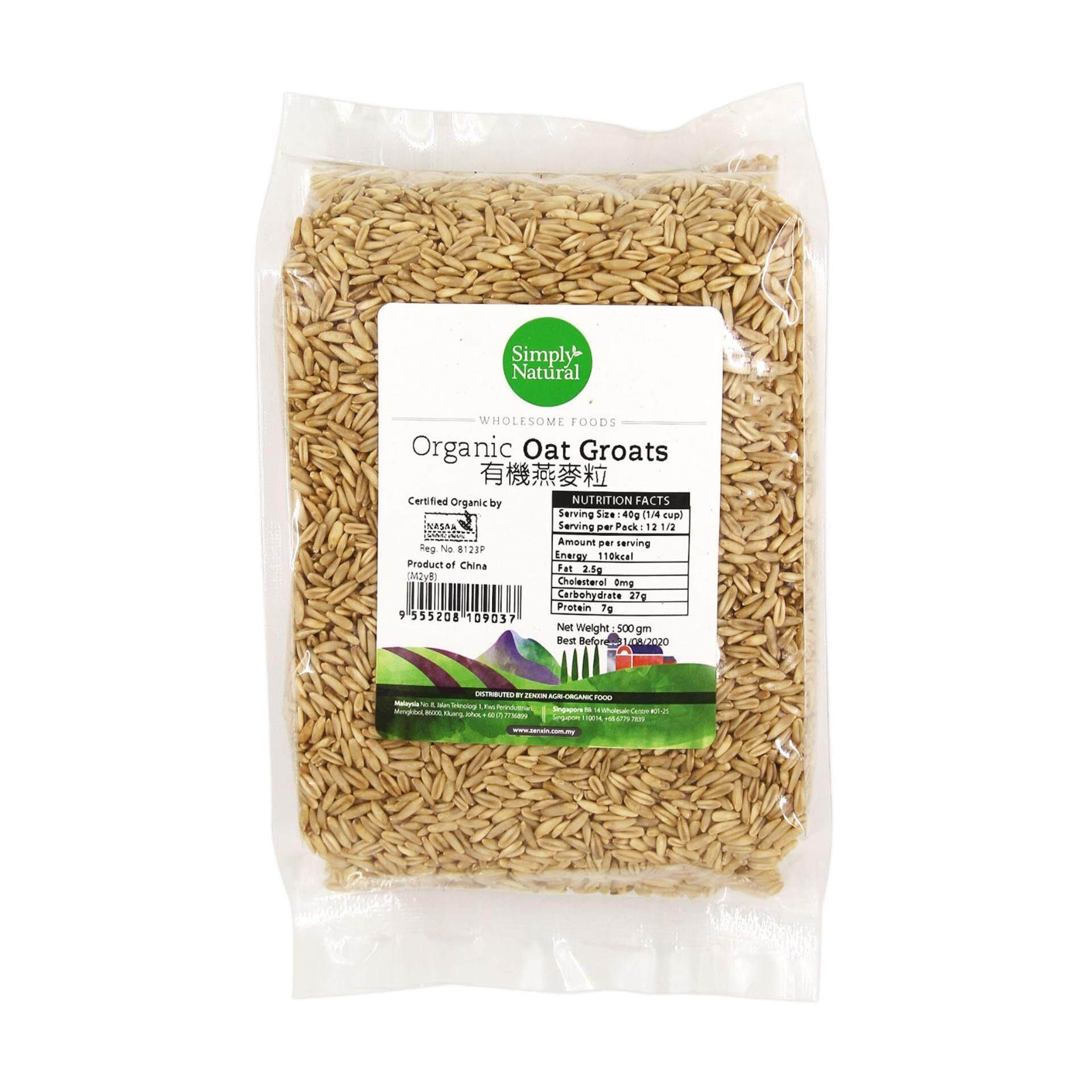 SIMPLY NATURAL Organic Oat Groats 500g China