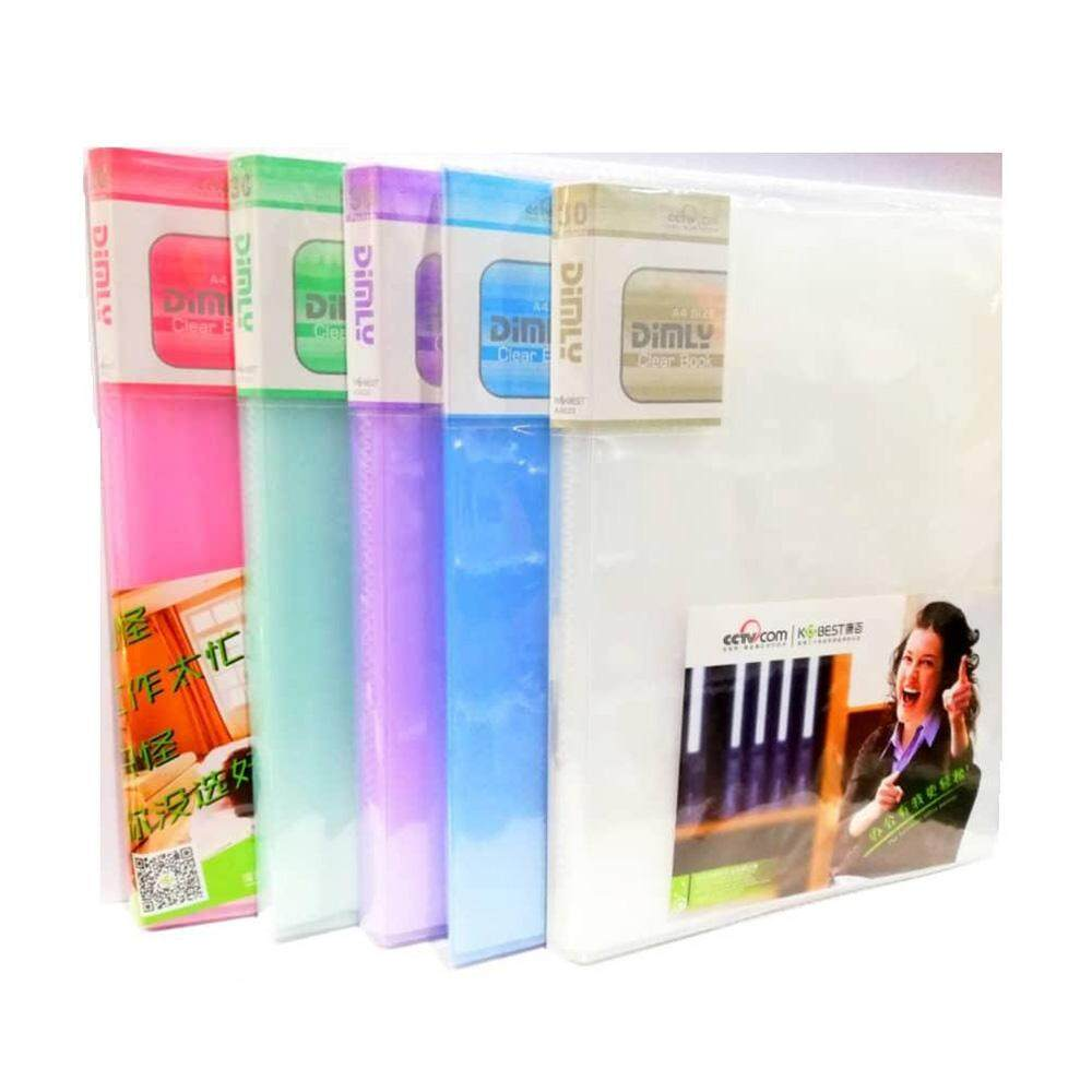 Kobest A5 30 Pocket Clear Book (A5330)