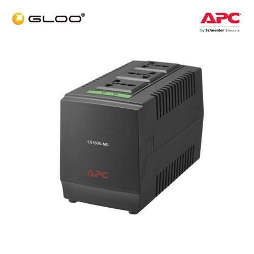 APC Line-R 1500VA Automatic Voltage Regulator LS1500-MS - Black [Free RM20 BHP Petrol Voucher from 29 Aug - 16 Sept 2019]