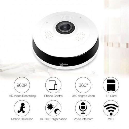 Wireless Panoramic IP Camera 360