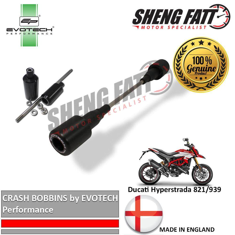 Ducati Hyperstrada 821/939 Crash Bobbins 2013 by EVOTECH Performance (BUN001200)