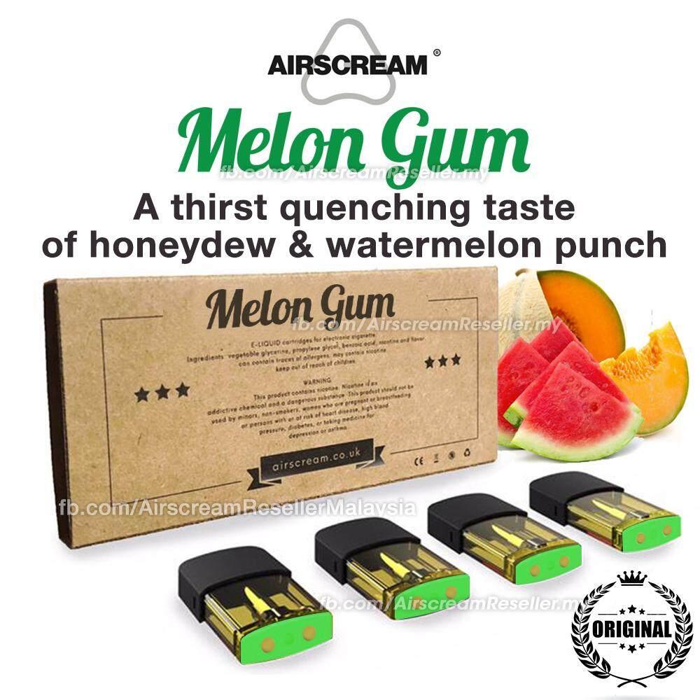Airscream Airspops Pod Cartridge Melon Gum Flavour (4 Cartridges)