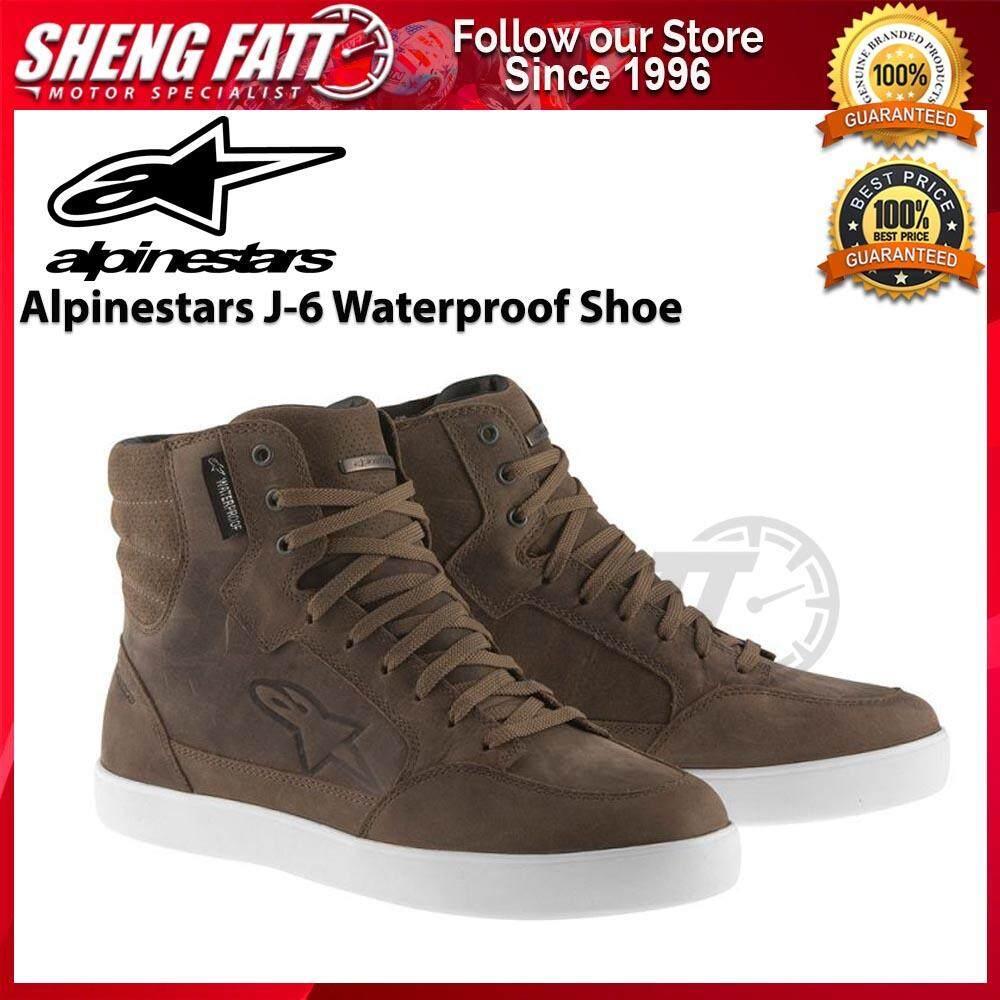 Alpinestars J-6 Waterproof Shoe (Brown)