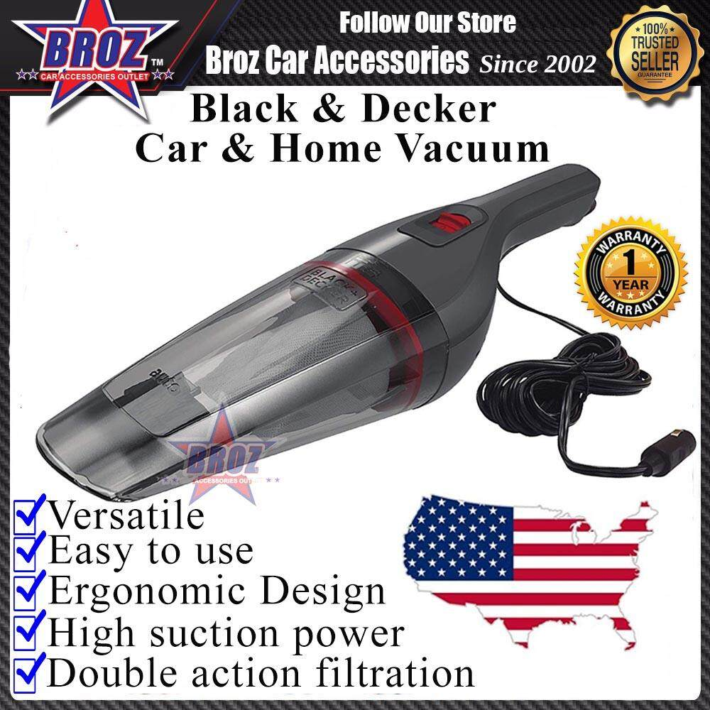 Black and Decker NV1210AV-B1 12V Dustbuster Auto Car And Home Vacuum