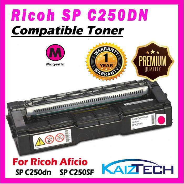 AAA Super Grade Ricoh SP C250DN, SPC 250SF Magenta Compatible Toner for SPC250DN , SPC250SF