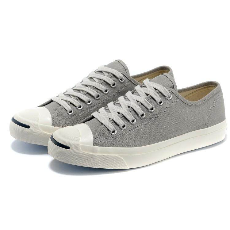 การใช้งาน  สระแก้ว SLK★แท้ Converse ชาย JACK Purcell LTT ข้อต่ำรองเท้ากีฬาผ้าใบสีเทา