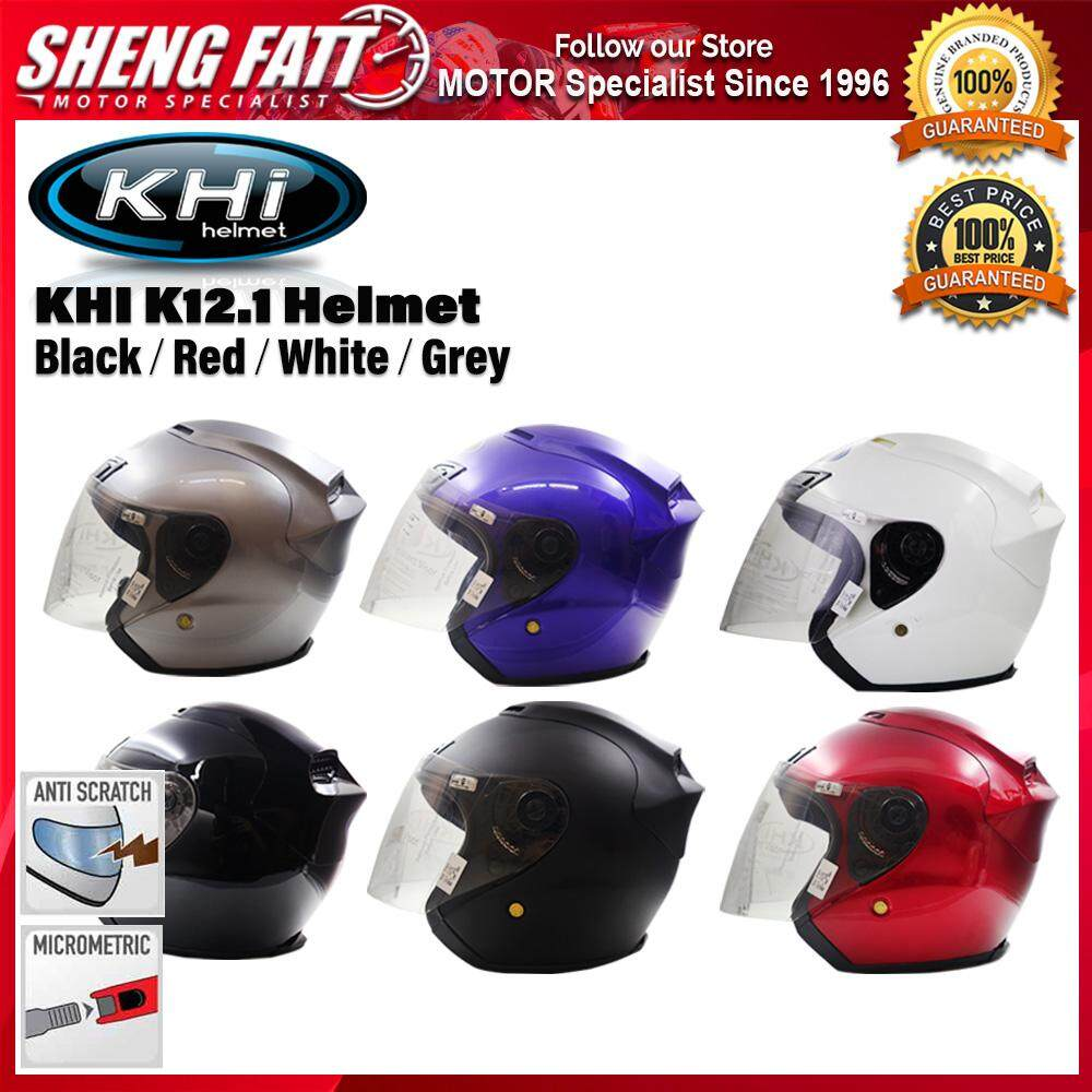 KHI K12.1 HELMET with Visor Open Face Helmet Motorcycle [ORIGINAL]