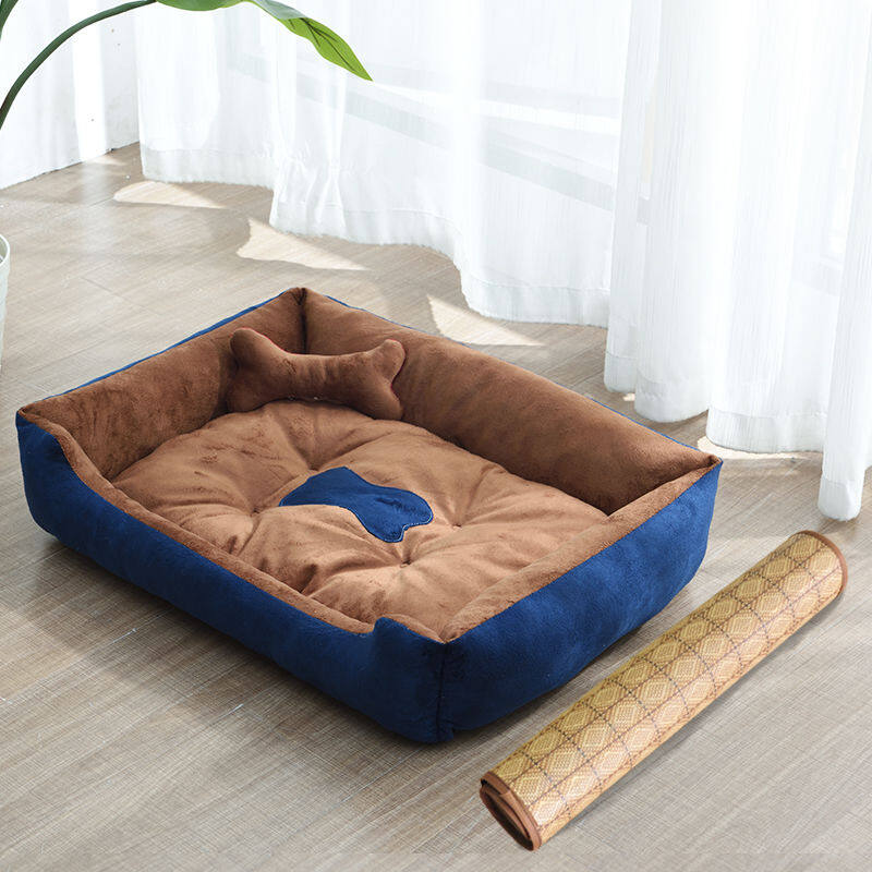 Jual Dog kennel general small dogs of the four seasons summer pet litter the large breed dogs dog MATS cat litter pet products Terbaik