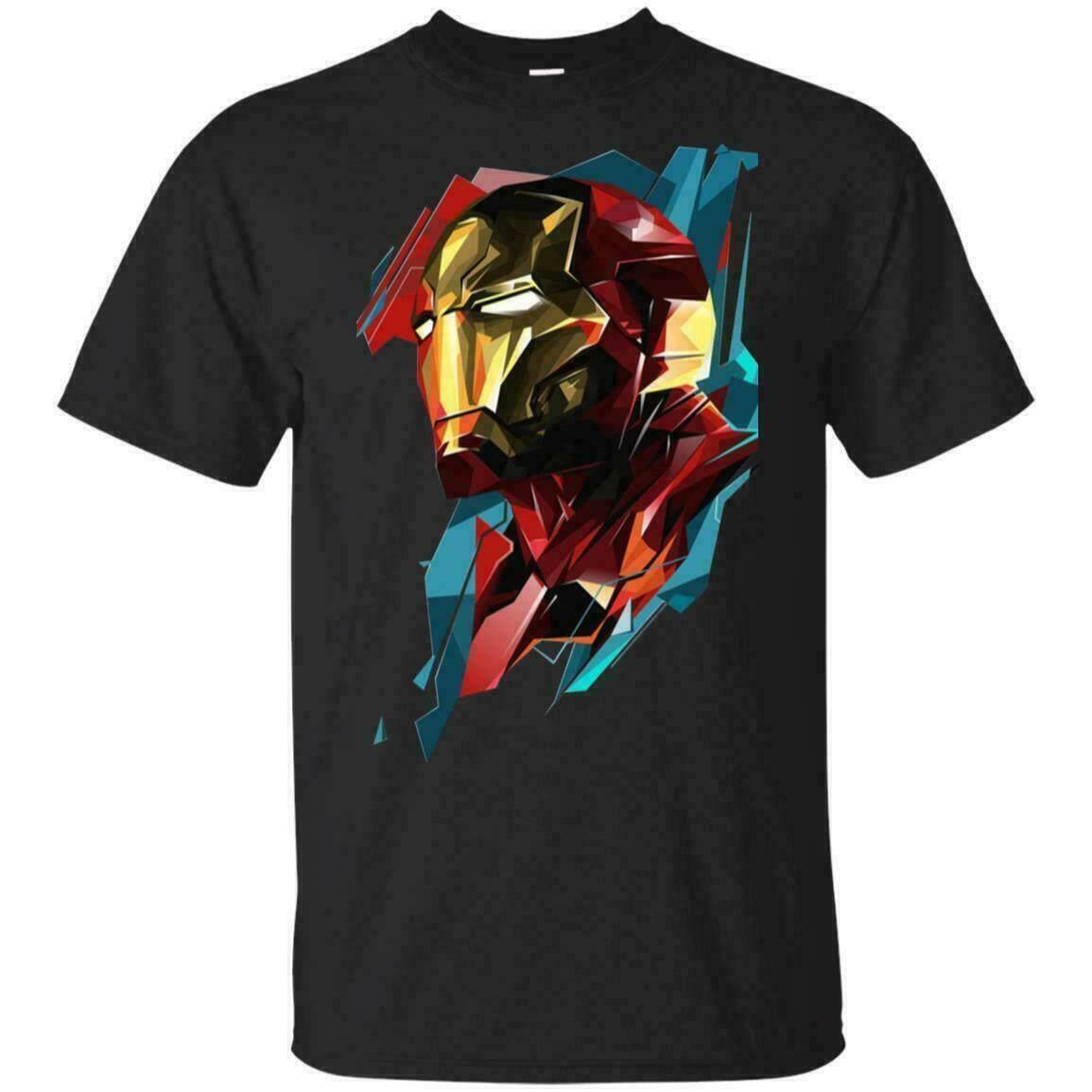 Sports t-shirt Iron Man Marvel T-Shirt Avenger 4 End Game Iron Man