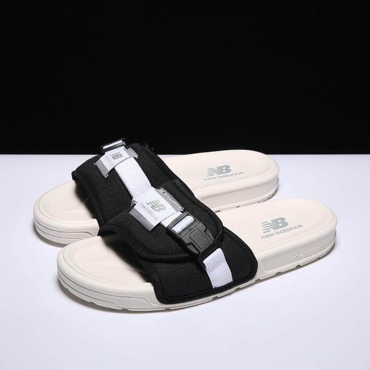 สอนใช้งาน  เลย คลังสินค้าพร้อม NB ฤดูร้อน New Balance รองเท้าแตะชายหาดรองเท้าแตะผู้ชาย & ผู้หญิง