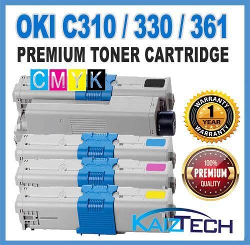 AAA OKI / Okidata C310 / C330 / C331 / C510 / C511 / C530 / C531 / MC361 / MC362 / MC561 / MC562 Premium Compatible Toner