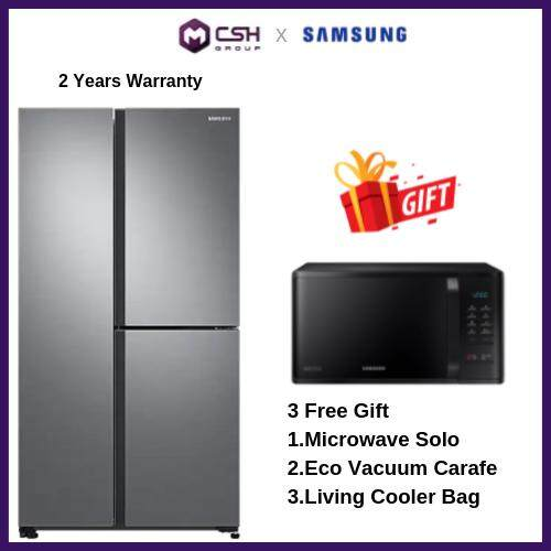 Samsung  3 Door Side by Side with Large Capacity (SpaceMax) RS63R5561M9/ME