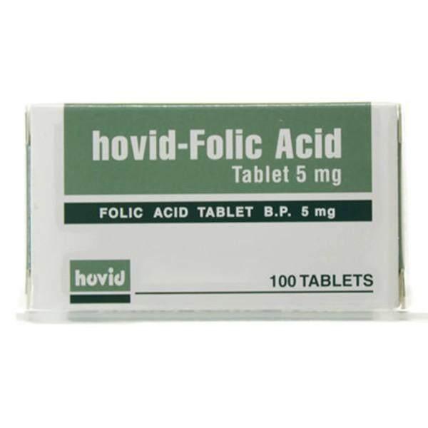 Hovid-Folic Acid 5mg 100's