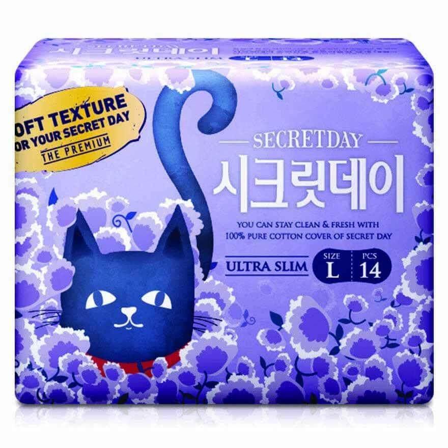 Secret Day Love Recipe Ultra Slim L (28cm) 14pcs (Korea No.1)