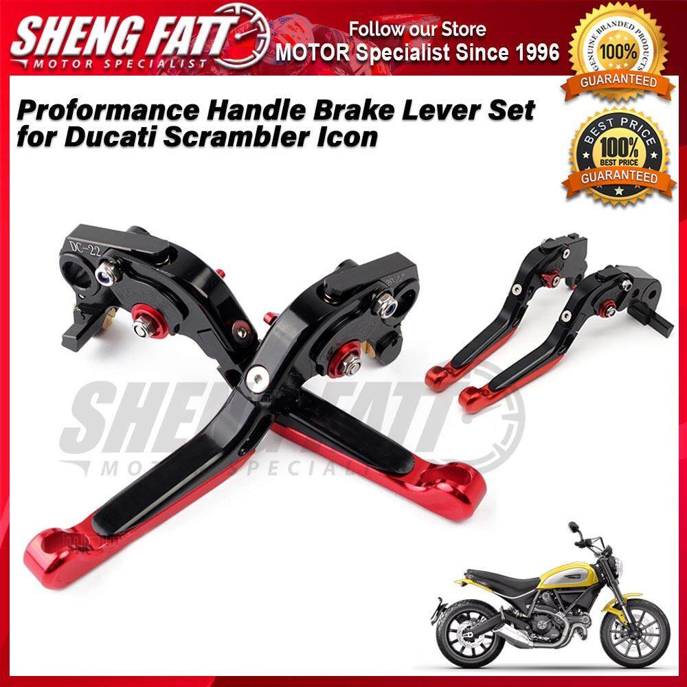 Proformance Adjustable Folding Extendable Brake Clutch Levers for Ducati Scrambler Icon