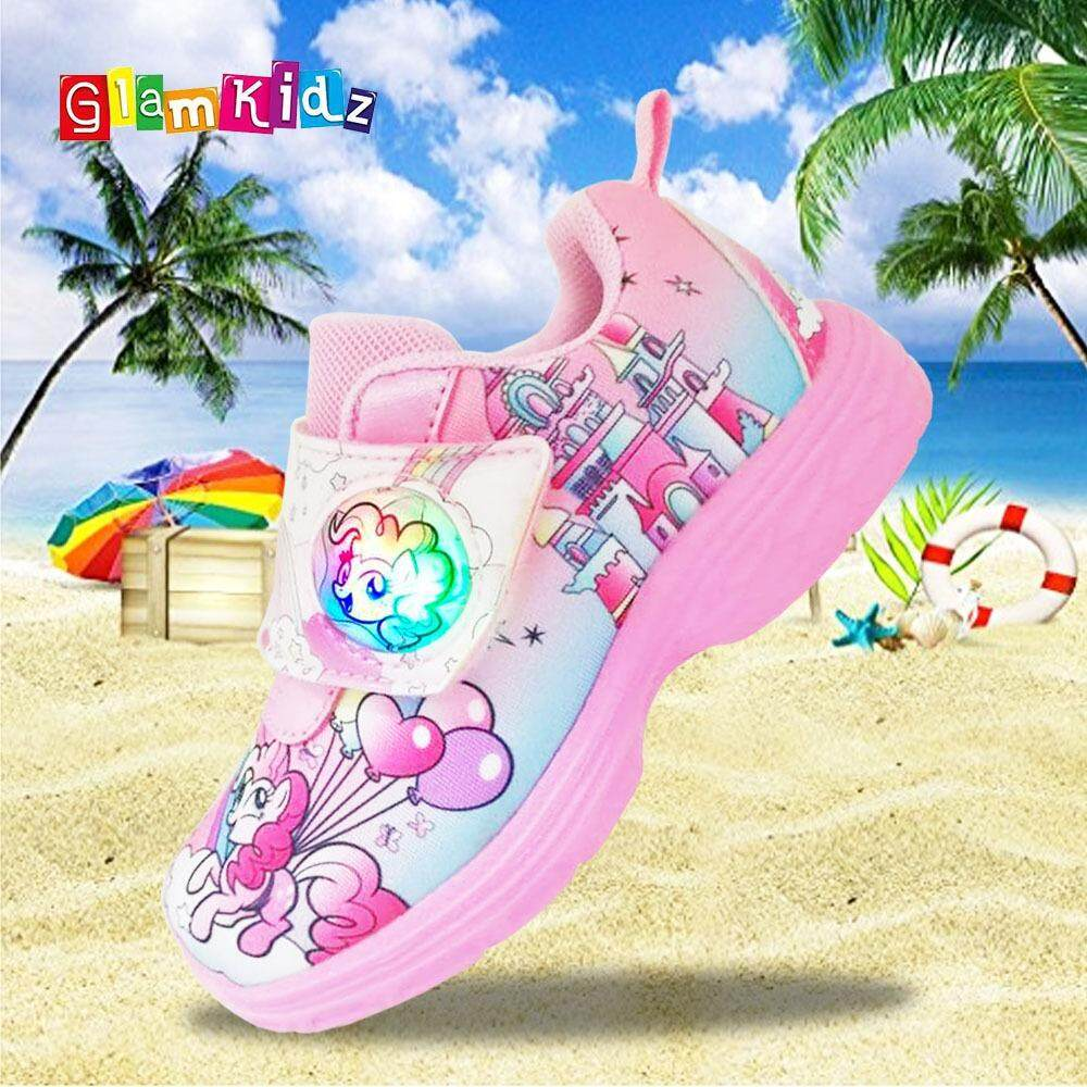 870de3dc95 My Little Pony Girls Sneakers with LED (Pink)  7311