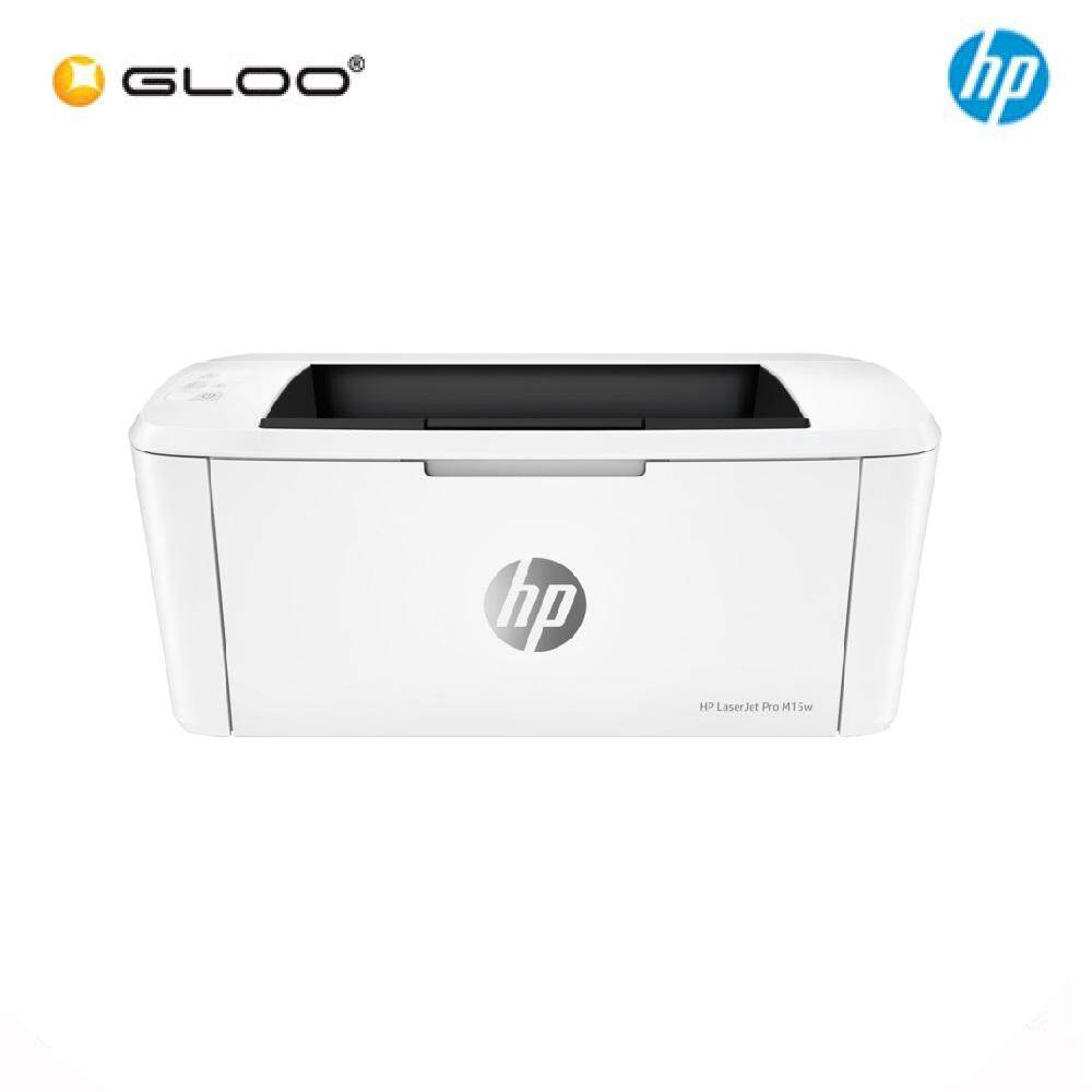 HP LaserJet Pro M15w Laser Printer (W2G51A) - White