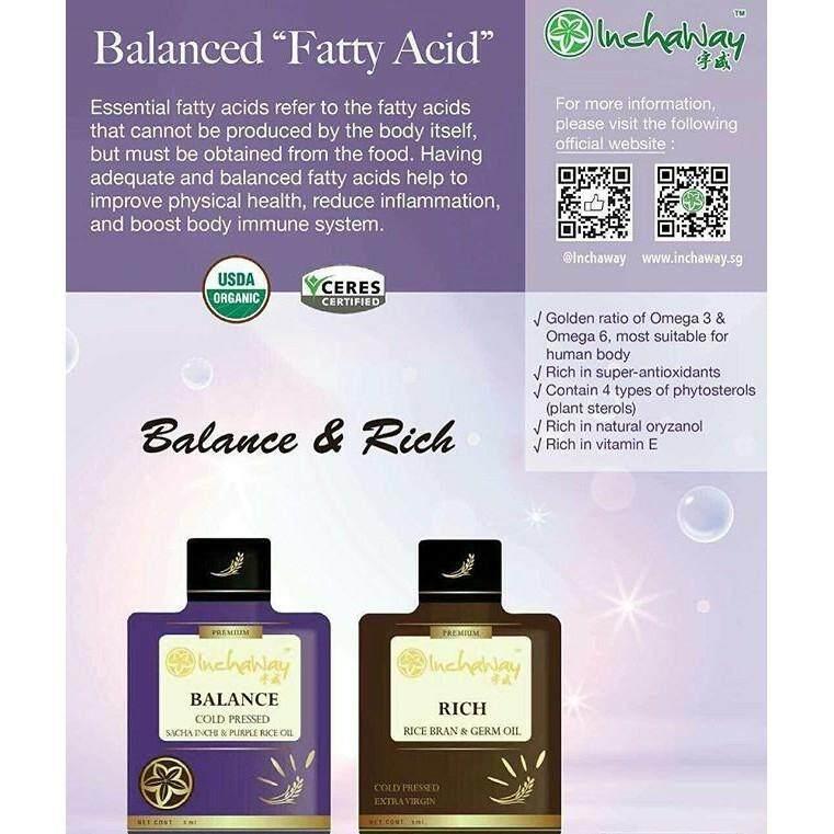 Inchaway Balance and Rich Series (3ml X 30 Sachets X 2 Boxes)   (Original) Halal