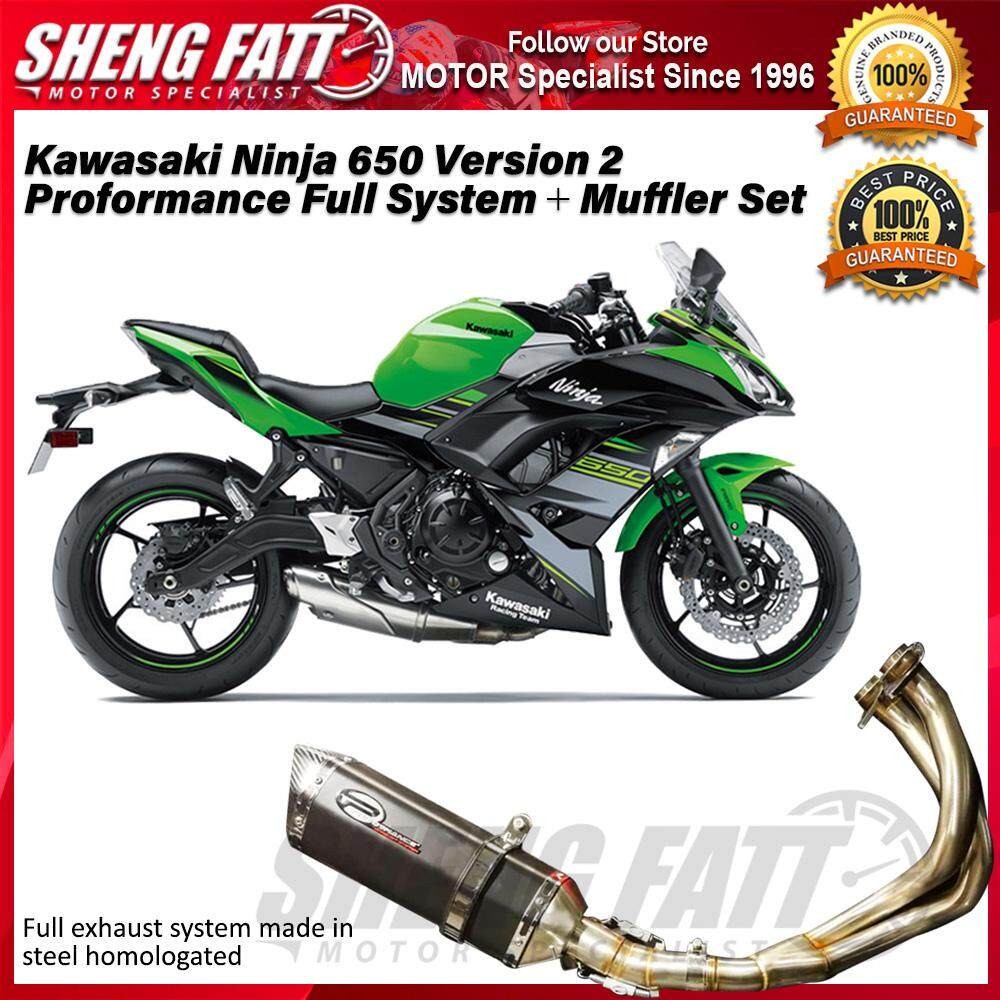 Kawasaki Ninja 650 MRK34-77 Version 2 Proformance Full System + Muffler Set