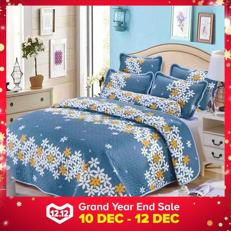 Maylee D8971 Cadar Patchwork High Quality Cotton Set of 3