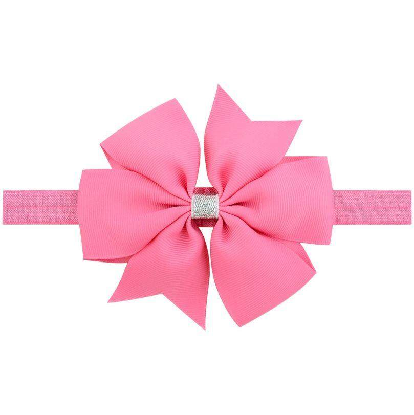 Infant Baby Girl Bowknot Elastic Hairband